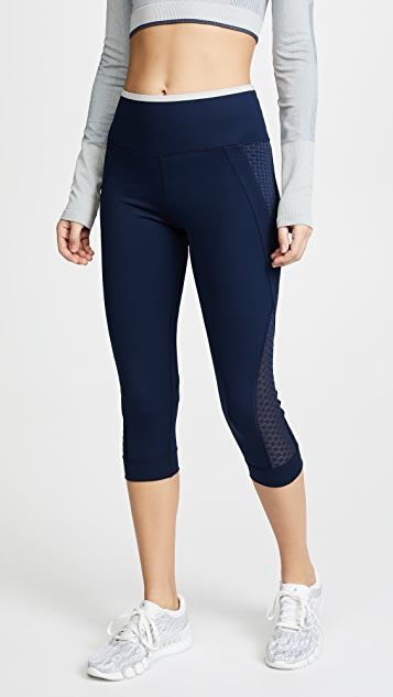 adidas by Stella McCartney Train Ultra 3/4 Leggings - Collegiate Navy