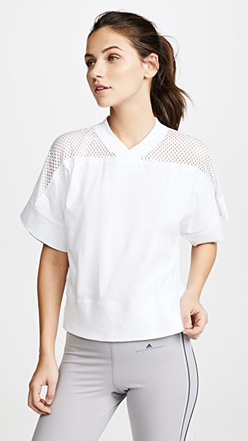 d0421a6efa134 adidas by Stella McCartney Train Mesh Tee