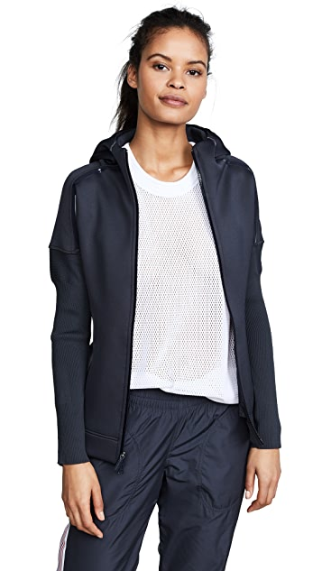 adidas by Stella McCartney Z.N.E Hoodie Knit Top