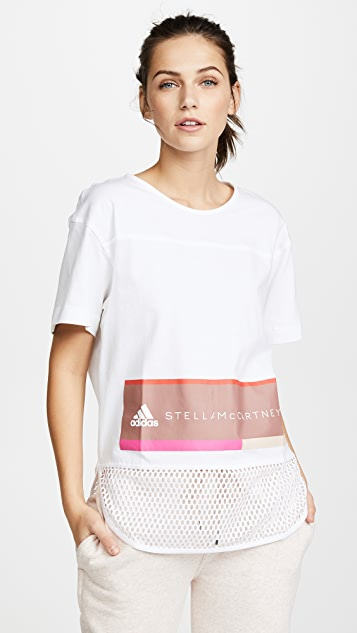 898535b755c81 adidas by Stella McCartney Essentials Logo Tee ...