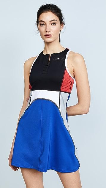 adidas by Stella McCartney Tennis Dress - Black/Bold Blue