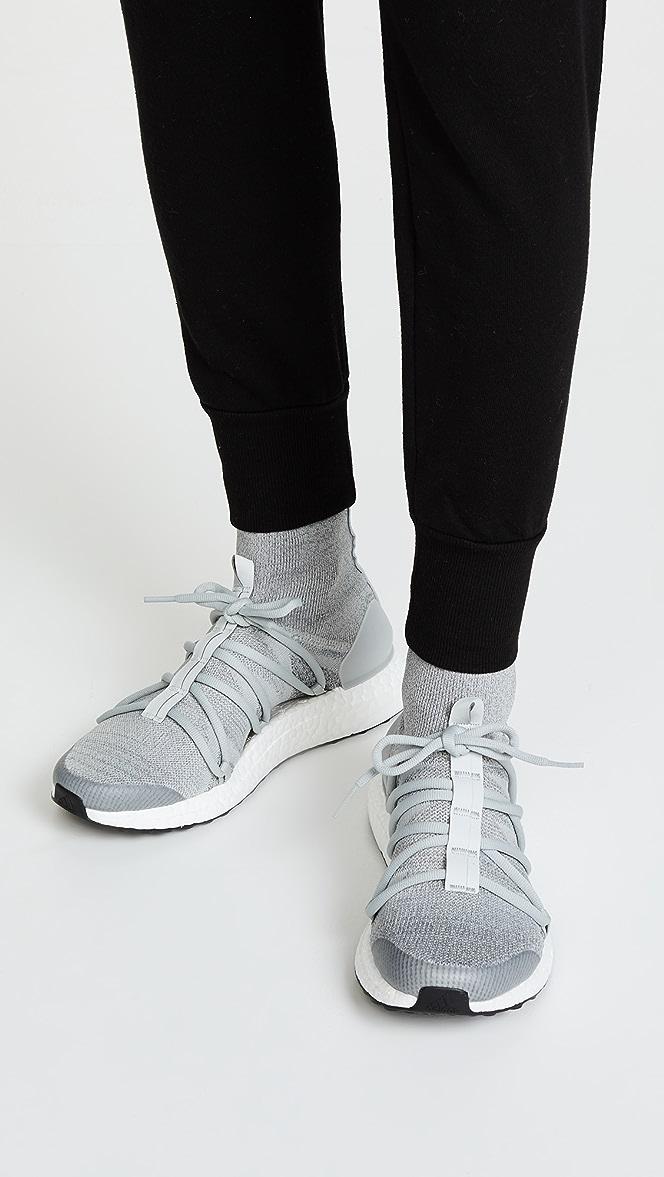 Women Shoes Adidas By Stella Mccartney Ultraboost X Mid Stone White Grey