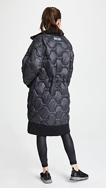 adidas by Stella McCartney Athletic Long Padded Jacket