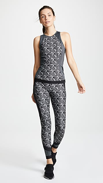 adidas by Stella McCartney Printed Run Tank
