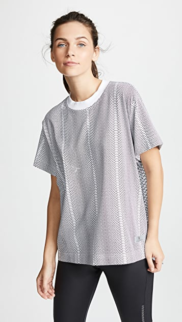 478c6a23866 adidas by Stella McCartney Running Snake Print Tee | SHOPBOP