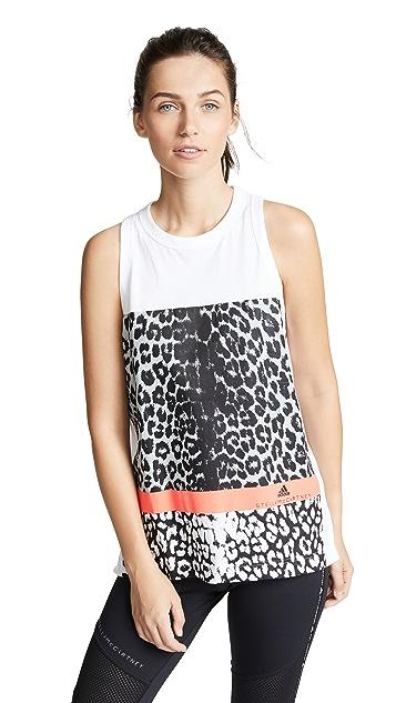 adidas by Stella McCartney Essentials Leopard Tank