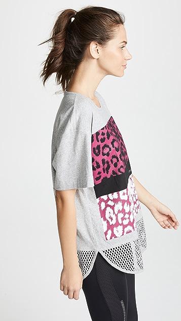 adidas by Stella McCartney Essentials Leopard Tee