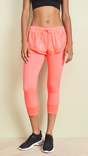 adidas leggings peach