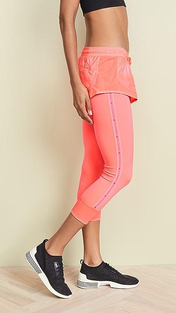 adidas by Stella McCartney Performance Essentials Short Over Leggings