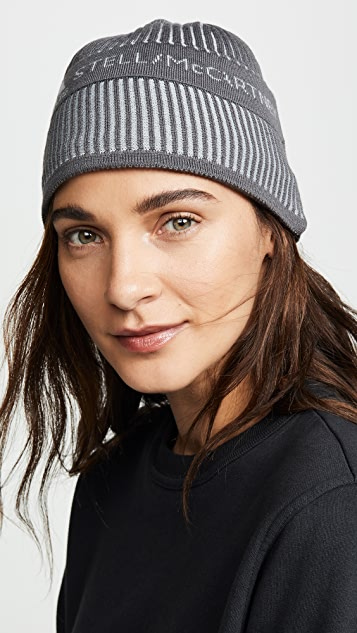 separation shoes 83254 da953 adidas by Stella McCartney. Running Beanie Hat