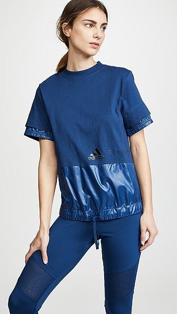 adidas by Stella McCartney Crew Tee - Mystery Blue