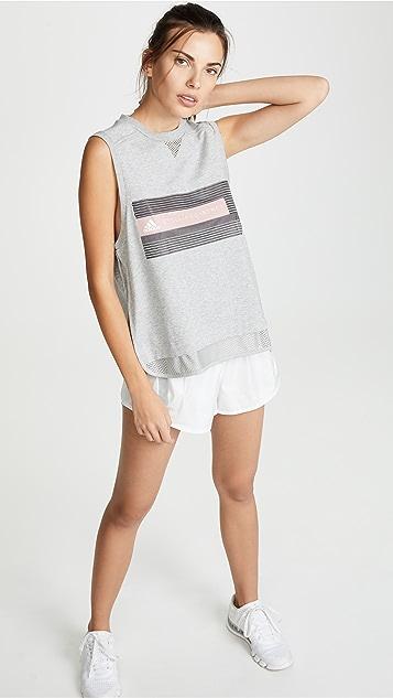 adidas by Stella McCartney Майка с логотипом