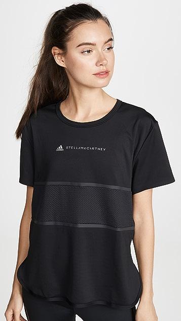 adidas by Stella McCartney Свободная футболка для бега