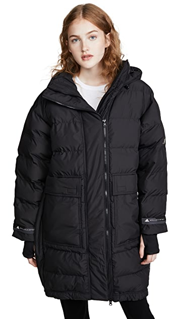 adidas by Stella McCartney Long Padded Jacket