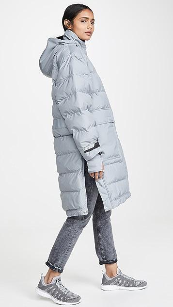 adidas by Stella McCartney Длинный жакет с мягкой подкладкой