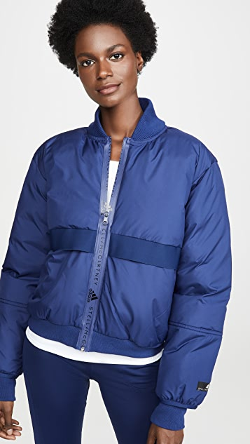 Padded Bomber Jacket by Adidas By Stella Mc Cartney