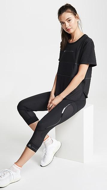 adidas by Stella McCartney 基本款七分紧身裤