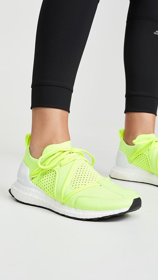adidas by Stella McCartney UltraBOOST T. S. Neon Sneakers ...