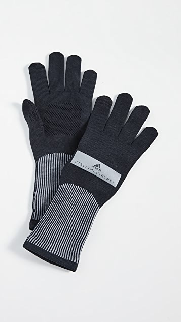 adidas by Stella McCartney Run Gloves Knit