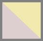 пыльная роза/свежий лимон/прозрачный голубой