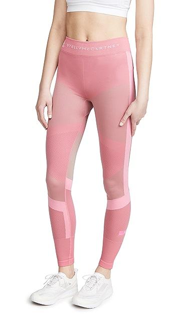 adidas by Stella McCartney Run 针织连裤袜