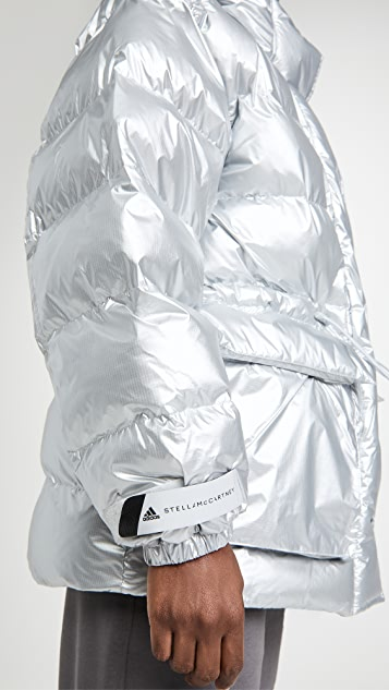 adidas by Stella McCartney 中长羽绒派克大衣