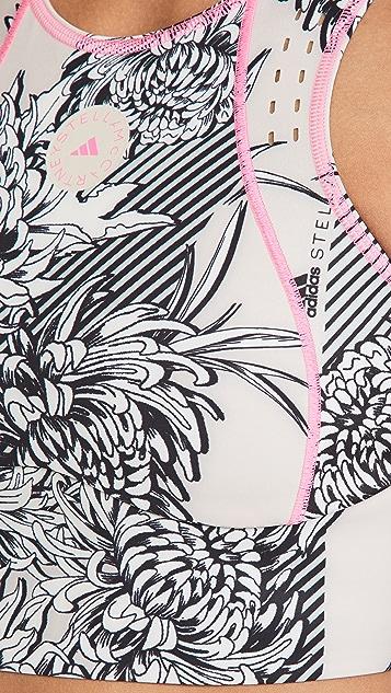 adidas by Stella McCartney Truepurpose 整版印花短款上衣