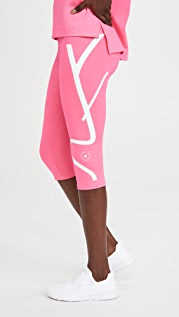adidas by Stella McCartney Truepace 3/4 连裤袜