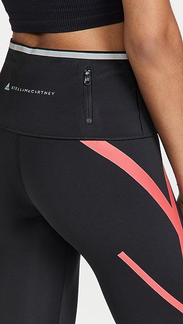 adidas by Stella McCartney Truepace Long Tight Primeblue 贴腿裤