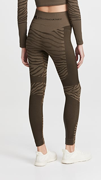 adidas by Stella McCartney Asmc Truepurpose 无接缝连裤袜