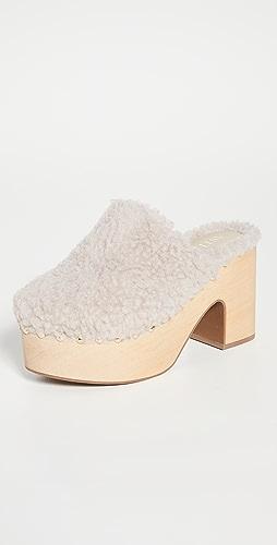 Aster - Block Heel Clogs