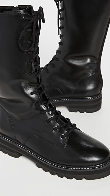 Aster Tall Combat Boots
