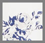 Cream Satin Floral