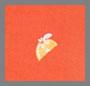 Оранжево-алый принт