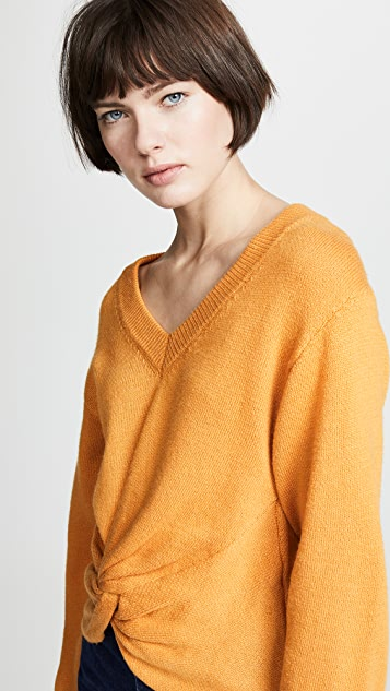 ASTR the Label Twist Front Sweater