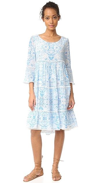 Athena Procopiou The Misummer's Sky Frill Dress