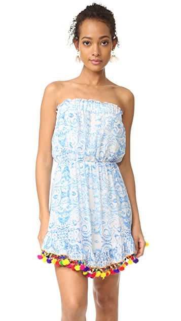 Athena Procopiou The Misummer's Sky Short Dress