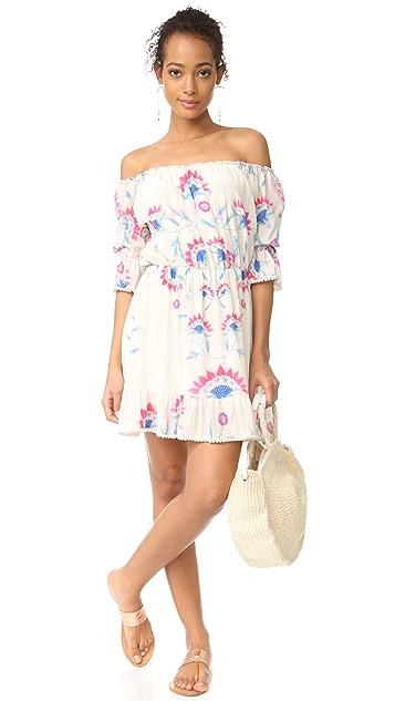 Athena Procopiou Flower Child Short Dress