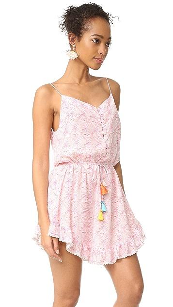 Athena Procopiou Mandrem Short Strap Dress
