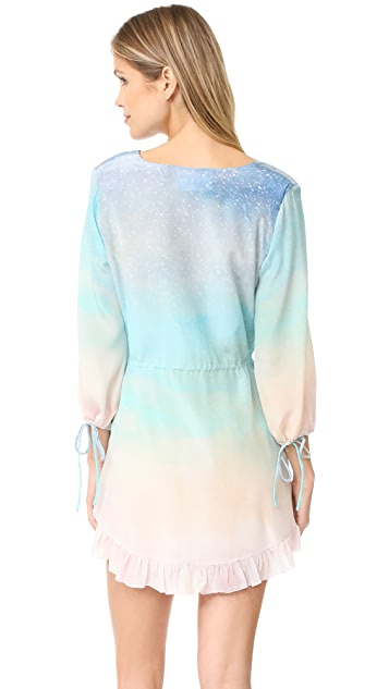 Athena Procopiou Love at Dawn Long Sleeve Dress