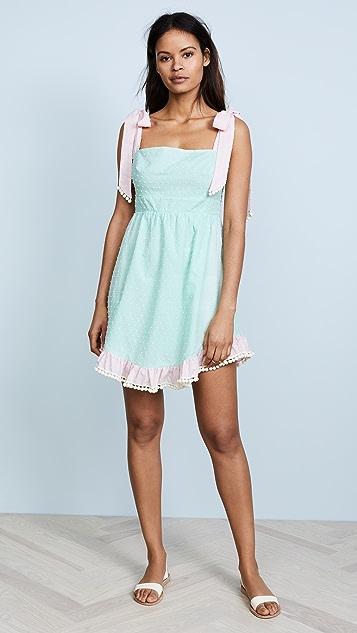 Athena Procopiou Dust In the Wind Pompom Dress
