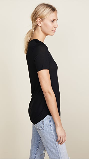 ATM Anthony Thomas Melillo Modal Sweetheart Tee