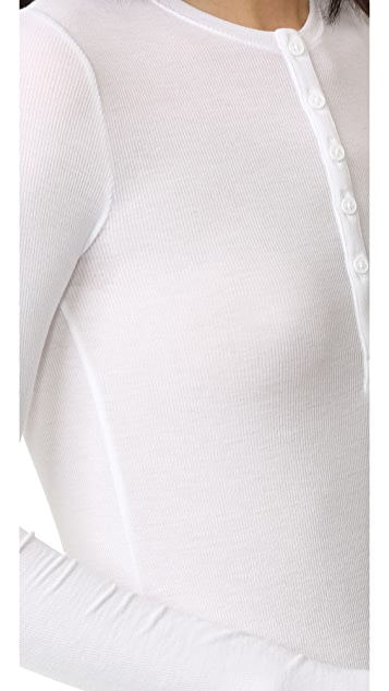 ATM Anthony Thomas Melillo 2x1 Rib Henley