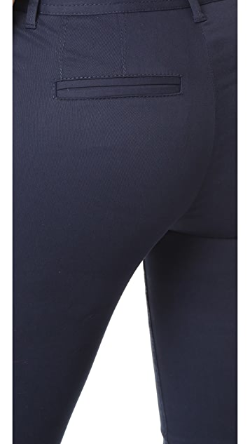 ATM Anthony Thomas Melillo Stretch Twill Moto Pants