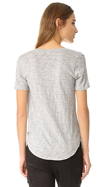 ATM Anthony Thomas Melillo Jersey V Neck Tee