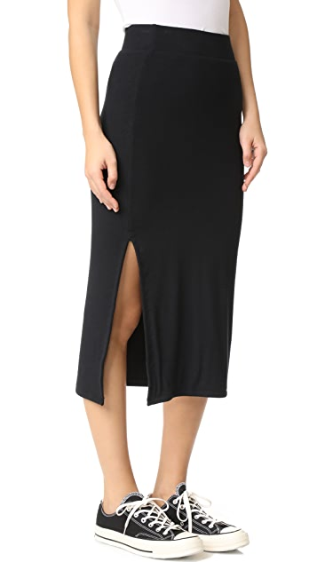 ATM Anthony Thomas Melillo Rib Skirt