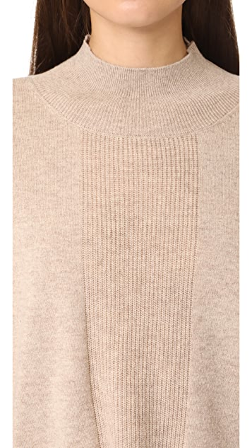 ATM Anthony Thomas Melillo Alpaca Mock Neck Sweater