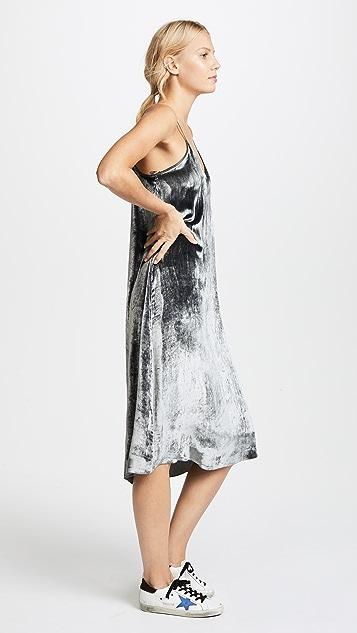 ATM Anthony Thomas Melillo Drapey Velvet Cami Dress