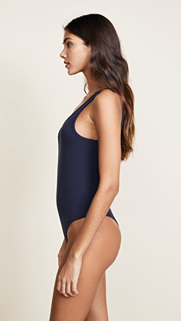 ATM Anthony Thomas Melillo Tank Thong Bodysuit