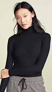 ATM Anthony Thomas Melillo Micromodal Rib Turtleneck